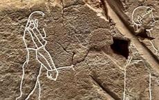 """""""Máy tính bảng"""" chứa hình vẽ 3.500 năm tuổi mô tả """"hồn ma"""" cô đơn"""