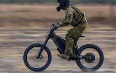 Úc thử nghiệm xe đạp điện 'êm như ru' cho lính trinh sát