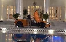 Phan Công Khanh 'chơi trội', đỗ McLaren 720S Spider ngay trước 'siêu' biệt thự của Vũ Khắc Tiệp
