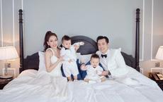 Dương Khắc Linh - Sara Lưu sang trọng mừng sinh nhật hai quý tử
