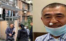 Lao ra đỡ cậu bé nặng 80kg rơi từ tầng 4 chung cư, người hùng vỡ cả mặt mũi