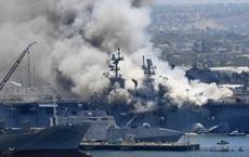 Kết luận nguyên nhân vụ cháy tàu chiến 2 tỉ USD của Hải quân Mỹ