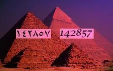 Dãy số 142857 của kim tự tháp Ai Cập được mệnh danh là con số kỳ lạ nhất trên thế giới – Vì sao?