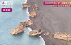 'Phi đội' tàu ma đổ bộ đất liền Nhật Bản sau trận động đất