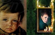 Bức tranh 'Cậu bé khóc' bị nguyền rủa khiến cả nước Anh sợ hãi: Treo ở đâu là cháy ở đó trừ chính nó nhưng sự thật ẩn sau lại vô cùng kinh ngạc