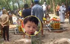 Clip đám tang bé trai 2 tuổi ở Bình Dương: Không khí lặng im bao trùm, người thân xót xa