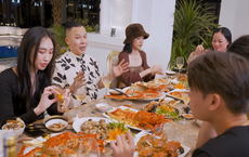 Vũ Khắc Tiệp mời dàn chân dài bữa ăn hơn chục triệu: Mong mọi người đừng đánh giá