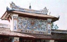 Giải mã 'bí ẩn' bức tranh rồng bị che lấp trên cổng chùa Thiên Mụ xứ Huế