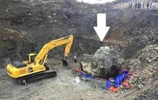 Bất ngờ đào trúng cục ngọc to như căn phòng, nặng bằng hơn trăm chiếc Camry, giá nghìn tỷ