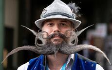 24h qua ảnh: Cuộc thi người đàn ông có râu ria đẹp ở Đức