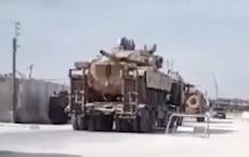 Video: Thổ Nhĩ Kỳ đưa ít nhất 20 xe tăng tới Syria