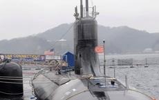"""Tàu ngầm Mỹ khó nhọc """"lội nước"""" về Guam sau vụ va chạm ở Biển Đông: Hé lộ bộ phận bị hỏng"""