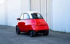 Cận cảnh chiếc ô tô điện 2 chỗ giá rẻ lấy cảm hứng từ xế hộp hạng sang BMW