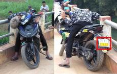 Sáng sớm phát hiện thanh niên chết gục trên xe máy