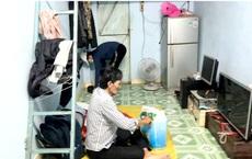 Hình ảnh căn phòng trọ vỏn vẹn 20m2 của Thương Tín và vợ gây xót xa