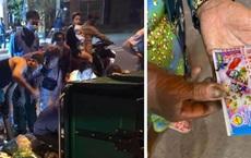 Long An: Vứt nhầm 12 tờ vé số trị giá 180 triệu đồng, cả xóm lục tung thùng rác tìm giữa đêm khuya