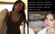 Phía Ninh Dương Lan Ngọc phản ứng thế nào trước nghi vấn lộ clip giường chiếu trên web đen?