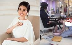 Hoa hậu Việt được tặng 6 tỷ vì giảm 6kg: Chơi hàng hiệu khét tiếng, quỳ gối rửa chân cho chồng