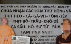 """Xôn xao những video """"thầy chùa ăn thịt chó"""": Ông Phúc tự cạo đầu, tự mặc pháp phục rồi lấy tên Thích Tâm Phúc"""