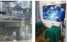 """Bắt quả tang """"phòng tiểu phẫu thẩm mỹ cô bé"""" nằm khuất trong quán cà phê ở Sài Gòn"""