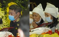 Tang lễ NSND Trần Hạnh: Con dâu khóc ngất, Công Lý, Chí Trung xót xa tiễn biệt