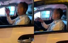 """Đâm vào đuôi ô tô phía trước, tài xế ngồi trong xe """"tao xin lỗi mày, được chưa?"""", hành động cuối mới gây bức xúc"""