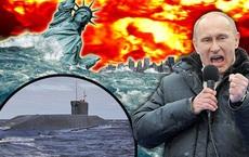 """Đăng cảnh báo đội tàu ngầm bí mật của Nga """"gieo rắc hỗn loạn"""", báo Anh nhận loạt phản ứng bất ngờ"""