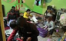 Giải cứu 8 thiếu nữ bị ép phục vụ tiếp khách, bán dâm