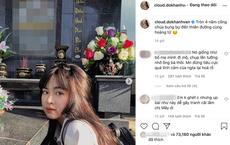 """Tạo dáng bên mộ người thân bị dân mạng chỉ trích """"làm trò lố"""", Khánh Vân đáp trả: """"Thích thì đăng"""""""