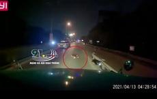 """Camera hành trình container quay lại cảnh thanh niên tử vong trên đường, """"thủ phạm"""" đã chuồn mất"""