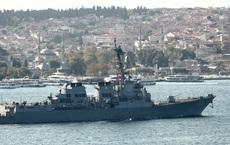 """Nga thẳng thừng gọi Mỹ là """"đối thủ"""", cảnh cáo tàu chiến Mỹ tránh xa Crimea"""