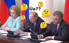 """[VIDEO] Tổng thống Putin bối rối, phải """"bó tay"""" vì tự mình viết chữ """"như gà bới"""", không đọc nổi"""