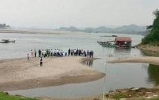 Rủ nhau ra sông Đà tắm, 2 học sinh mất tích gần 1 ngày chưa tìm thấy