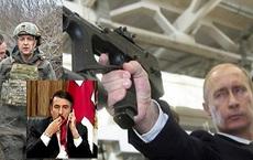 """Coi 2 ông Zelensky và Saakashvili """"là 1 kiểu"""", ông Putin tính lặp lại Chiến tranh Nam Ossetia ở Ukraine?"""
