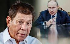 Thất vọng với Trung Quốc, Tổng thống Philippines quay sang ông Putin