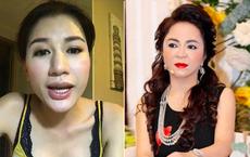 """Nhan sắc nữ đại gia đáp trả Trang Trần """"em có chửi chị 1000 lần chị vẫn xinh đẹp, ở trong lòng công chúng"""""""