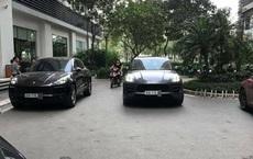 """Hai xe sang Porsche Macan cùng biển tình cờ gặp nhau ở sảnh chung cư: """"Trái đất tròn"""""""
