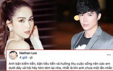 Chưa hết drama: Ngọc Trinh vừa mỉa mai đáp trả, Nathan Lee lại đăng status nhắc khéo ai đó 'dưới đáy xã hội' cực thâm thuý