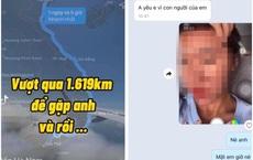 Vượt 1619km để gặp người yêu, cô gái gửi ảnh mặt mộc liền bị chàng trai chặn số