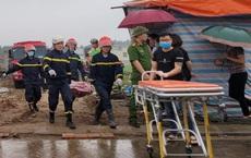 Sập giàn giáo công trình ở Bắc Ninh, 2 người tử vong