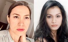"""""""Hoa hậu Việt Nam 1998"""" Ngọc Khánh: Đầu đầy tóc bạc nhưng nhan sắc lại gây bất ngờ"""
