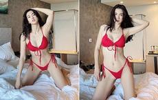 Cựu siêu mẫu Anh Thư diện bikini khoe vóc dáng nóng bỏng tuổi U40
