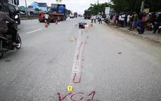 Một thanh niên bị xe container cán thẳng qua người, tài xế xe không hay biết (?!)