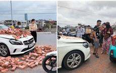 """Chủ xe Mercedes bị xích lô đâm trúng: """"Tôi làm căng lên để anh ấy rút kinh nghiệm chứ không bắt đền"""""""