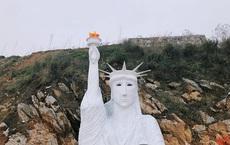 """Chủ tượng Nữ thần Tự do phiên bản """"đột biến"""" ở Sa Pa: """"Bỏ tiền và nước mắt, nhưng sản phẩm bị ném đá, đau lắm!"""""""