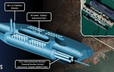 """Sự thật Trung Quốc sở hữu """"chúa tể tàu ngầm"""" mang 48 tên lửa đạn đạo"""