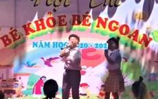 """Xôn xao vụ trẻ hát rap """"địa ngục trần gian"""" tại hội thi bé ngoan: Yêu cầu giáo viên rút kinh nghiệm"""