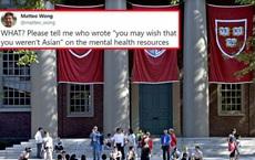 Đại học Harvard vừa có một phát ngôn khiến cộng đồng người gốc Á phẫn nộ, buộc phải lên tiếng xin lỗi
