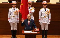 Ông Nguyễn Xuân Phúc được bầu làm tân Chủ tịch nước, tiến hành tuyên thệ nhậm chức