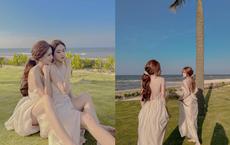 Chị em song sinh Huế gây sốt vì quá xinh đẹp: Giống tới mức chồng cũng nhầm, nhưng chụp ảnh lại có điểm khác biệt